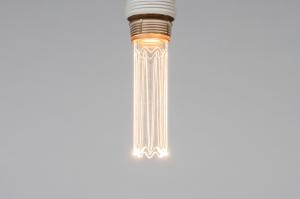 Leuchtmittel 325 Glas klares Glas laenglich