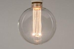 lichtbron 331 glas helder glas rond