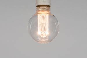 lichtbron 369 glas helder glas rond