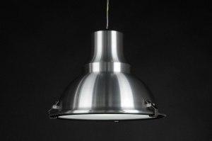 hanglamp 70363 sale industrie look landelijk rustiek modern retro geschuurd aluminium metaal aluminium rond