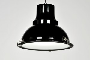 pendant light 70364 sale industrial look modern metal black round