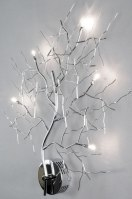 wandlamp 70467 sale modern eigentijds klassiek metaal chroom