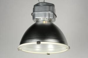 hanglamp 70526 sale industrie look landelijk rustiek modern aluminium metaal aluminium staalgrijs rond