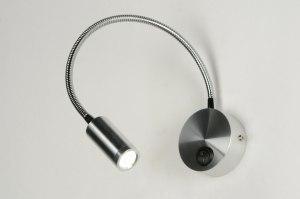 wandlamp 70556 modern aluminium metaal aluminium