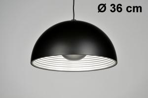 pendant light 71371 sale designer rustic modern metal black matt round