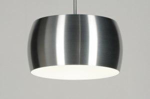 hanglamp 71442 modern landelijk rustiek design industrie look aluminium aluminium metaal rond