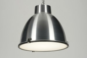 pendant light 71832 industrial look rustic aluminium metal aluminum round