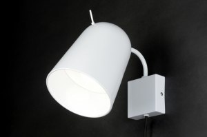 wandlamp 71964 sale design modern metaal wit glans rond