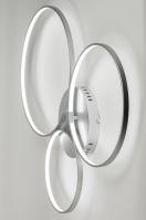 plafondlamp 72100 sale design modern aluminium metaal aluminium