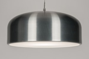hanglamp 72224 sale modern retro industrie look aluminium aluminium metaal rond