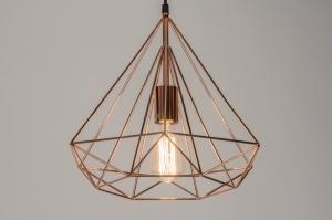 Pendant lamp 72266: modern, contemporary classical, rustic, copper