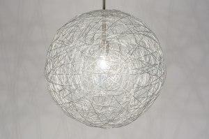 hanglamp 72275 modern aluminium aluminium rond