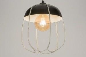 hanglamp 72445 modern zwart mat metaal