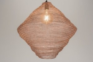pendant light 72450 sale rustic modern metal copper red copper