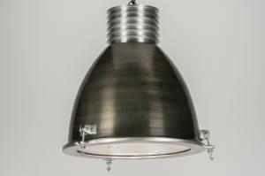 hanglamp 72453 modern landelijk rustiek industrie look stoer raw gunmetal (oldmetal) oldmetal (gunmetal) aluminium