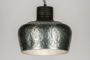 pendant light 72457 rustic modern contemporary classical metal silver