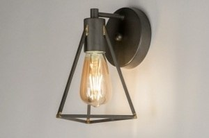 wall lamp 72548 sale modern raw gunmetal metal oldmetal gunmetal oldmetal