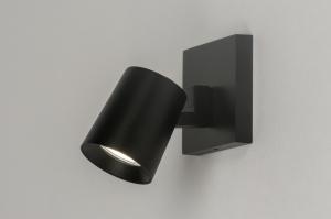 spot 72567 design modern aluminium metaal zwart mat