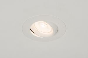 recessed spotlight 72580 aluminium metal white matt