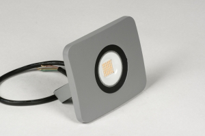 wandlamp 72749 sale design modern aluminium metaal betongrijs rechthoekig