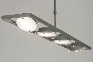 hanglamp 72823 sale modern metaal grijs betongrijs langwerpig rechthoekig