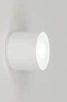 ceiling lamp 73151 modern aluminium white matt round