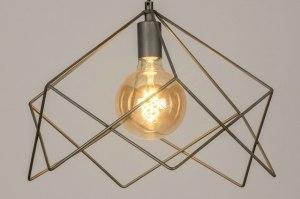 hanglamp 73260 sale modern stoer raw metaal staalgrijs