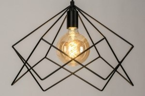 pendant light 73261 sale modern metal black matt