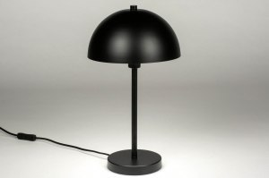 table lamp 73406 modern metal black matt