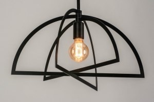 pendant light 73433 sale modern metal black matt