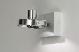 spot 73572 modern aluminium geschuurd aluminium aluminium rond rechthoekig