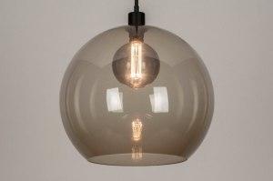 onderdeel 73671 sale modern retro glas kunststof acrylaat kunststofglas grijs bruin rond