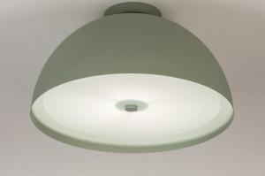 plafondlamp 73816 sale modern metaal groen rond