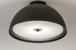 plafondlamp 73821 sale modern metaal zwart mat rond