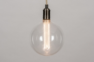 hanglamp 73982 industrie look design modern stoer raw nikkel zilver  oud zilver beige gunmetal (oldmetal)