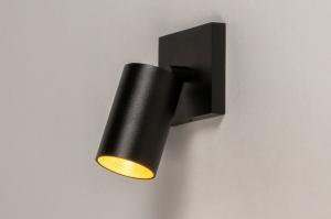 spot 73999 modern aluminium metaal zwart mat goud messing rond rechthoekig
