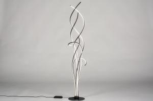 vloerlamp 74022 modern metaal zwart mat