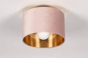 onderdeel 74055 stof goud roze