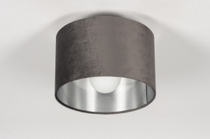 onderdeel 74056 stof grijs zilvergrijs antraciet donkergrijs rond