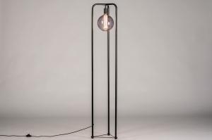 vloerlamp 74116 design modern metaal zwart mat