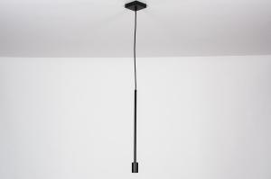 hanglamp 74119 industrie look design modern metaal zwart mat