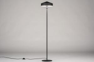 vloerlamp 74189 modern metaal zwart mat