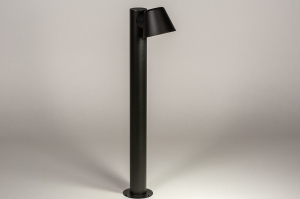 buitenlamp 74214 sale design modern aluminium zwart mat rond