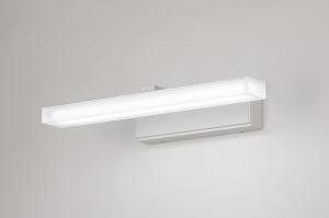 wandlamp 74404 modern aluminium metaal wit mat rechthoekig