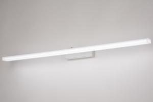 wandlamp 74406 modern aluminium metaal wit mat rechthoekig
