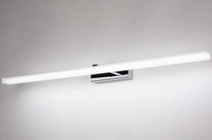 wandlamp 74409 modern metaal chroom rechthoekig
