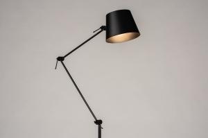 vloerlamp 74424 modern metaal zwart mat