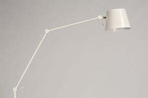 vloerlamp 74426 landelijk rustiek modern metaal wit mat creme
