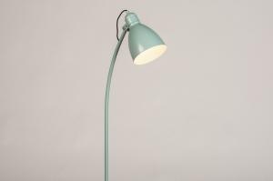 vloerlamp 74464 sale landelijk rustiek modern retro metaal groen rond