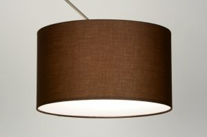 pendant light 84178 fabric brown